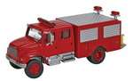 Walthers 11893  International 4900 First Response Fire Truck   H0